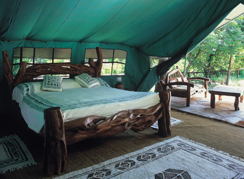 Samburu Luxury Tented Camp.